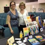 With friend and author Susan Westley at Marco Island Writers AuthorFest 2014